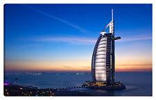 Quadro moderno DUBAI 100x60 abu dhabi arabia saudita  Burj al-Arab hotel Vela