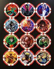 Custom Brotherhood of Evil Mutants Action Tokens (x12) - Marvel - Heroclix