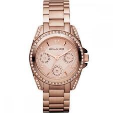 Michael Kors Mini Blair Rose Gold Chronograph Watch MK5613