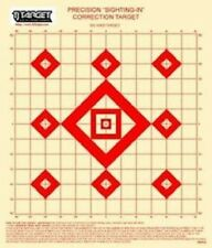 "BSPGS 100 Yd Rifle Sighting-In Target on target paper with 1"" Grid (50 Targets)"