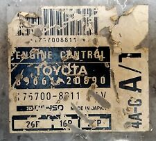 Toyota 89661-2D890 4A-G A/T black top ECU ECM PCM oem jdm used