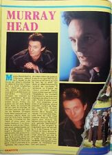 MURRAY HEAD => Coupure de presse 1 page 1987 !!! FRENCH CLIPPING