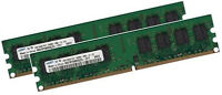 2x 2GB 4GB ECC Unbuffered RAM Arbeitsspeicher DDR2 667 Mhz UDIMM PC2-5300E 240p
