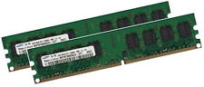2x 2gb 4gb ECC unbuffered memoria RAM ddr2 667 MHz UDIMM pc2-5300e 240p