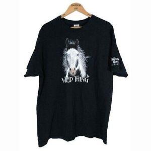 Tshirt Black XL Tom Giffin Artist Wild Thing Horse