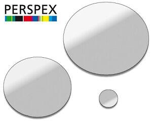MIRROR LASER CUT PLASTIC CIRCLES 3MM THICK ACRYLIC DISCS - PERSPEX