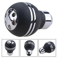 PU Leather Gear Shift Knob Shifter Lever For Car Manual Automatic Transmission
