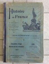 LIVRE SCOLAIRE ANCIEN HISTOIRE DE FRANCE COURS ÉLÉMENTAIRE 2ÉME ANNÉE N11