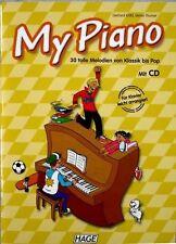 Klavier Noten : MY PIANO - 30 tolle Melodien mit CD - leicht - HAGE