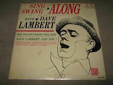 DAVE LAMBERT Sing Swing Along with RARE ORIG MONO SEALED LP 1960 UAL-3084 NoCut