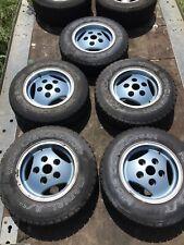 "Land Range Rover Classic RRC  16"" Alloy Wheels & Tyres 5x 3 Spoke NRC7900"