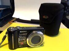 Lumix DMC-TZ6 Fotocamera Digitale-Nero con Lowepro Custodia morbida.