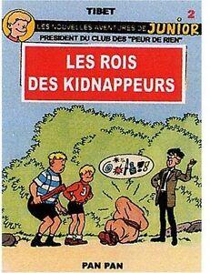 Junior (Les nouvelles aventures de) - tome 2 : Les rois des kidnappeurs
