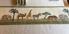 Waverly Wallpaper Border African  Safari Animals  4 New Rolls plus 1 opened roll
