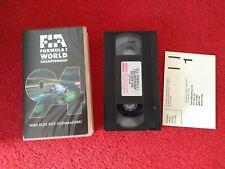 Formula 1 1994 Championship Season Review VHS Video tape 1994. Formula One senna