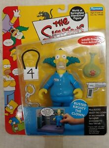 Busted Krusty the Clown Simpsons Playmates Series 9, 2002, Original NIP (1C)