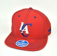 Los Angeles Clippers adidas NBA Flat Brim Men's Adjustable Snapback Cap Hat
