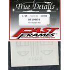 Decals Adhesives Fast Frames Decals 1/48 BF-109E-3 Tamiya TRUE DETAILS 41029