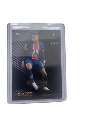 Topps UEFA Champions League Knockout Parallel Card Kylian Mbappe PSG #19/25