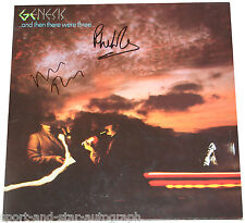 Genesis SIGNED AUTOGRAPH Album Phil Collins Mike Rutherford AFTAL UACC RD