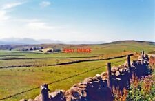 PHOTO  WESTWARD TO CARNEDD MOUNTAINS OF SNOWDONIA FROM NEAR CERRIGYDRUDION 1995