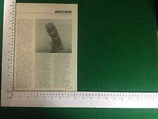 RCF MD3000/S Mikrofon Zeitraum Artikel/Review 1981