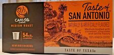 HEB San Antonio Cafe Ole single serve coffee K-cups 54 count