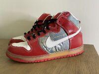 "Nike SB Dunk High Premium ""Shoe Goo"" Size 11 313171-012 low air jordan Worn"