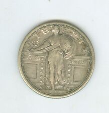 Attractive XF/AU 1917 S Type 1 Standing Liberty Quarter, Nice High Grade Coin