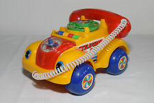 YUNG LO TOYS TAIWAN VW VOLKSWAGEN BEETLE KAFER TELEPHONE TOY EXCELLENT