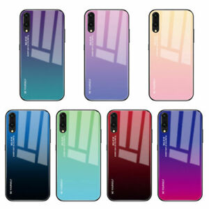 Back Cover Phone Case Tempered Glass for Huawei Mate 10 20 Lite P20 Pro Nova 3i