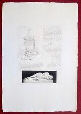 Eau-forte originale, Joseph Barra, Martial,Cadart, XIXe