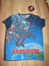 Primark Marvel Deadpool Official T shirt Men MAN'S NEW BNWT SIZE XXL