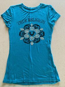True Religion t shirt womens size S