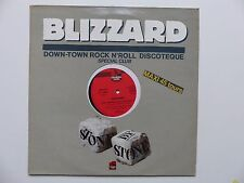 "MAXI 12"" BLIZZARD Down town rock n roll discotheque  gmf 012"