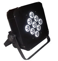 9*18W 6in1 RGBAW+UV with BATTERY powered wireless dmx stage led UPLIGHTING