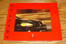 Original 2002 Pontiac Grand Am Deluxe Sales Brochure 02 SE SE1 GT GT1