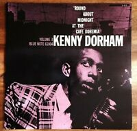 KENNY DORHAM 'ROUND ABOUT MIDNIGHT AT THE CAFE BOHEMIA' JAZZ LP JAPAN