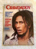 Vintage Rock N Roll Magazine Crawdaddy Jan 1976 Bob Marley The Who Gene Wilder