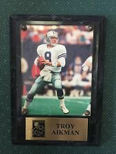 Dallas Cowboys Troy Aikman Plate