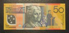1995 Fraser/Evans $50 UNC (R516a) - S/N: FH95036422