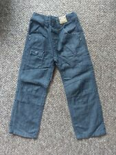 Gorgeous Dark Grey Marl Casual Trousers with Adjustable Waist NEXT age 4-5 NEW