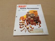 Schrader Bellows Airline Accessories Reference Book 1984  MB-11