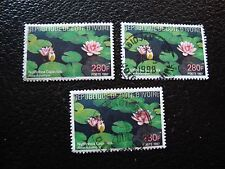 COTE D IVOIRE - timbre yvert/tellier n° 978 x3 obl (A28) stamp