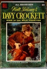 Dell Comic DAVY CROCKETT #1 1955 (GOLDEN AGE) FESS PARKER On Cover