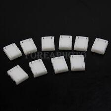 10X 8mm Anschluss Verbinder Gerade Adapter für 3528 LED Strip Streifen 2 Pin