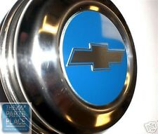 1970-75 Chevrolet Camaro Z-28 / 1971-72 Chevelle Center Caps - Blue