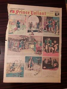 25 PRINCE VALIANT full SUNDAY PAGES from 1939