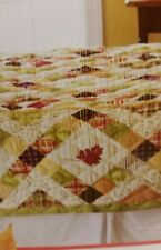 Better Homes & Gardens Harvest Quilt Full/Queen 86X86 & Tote Bag, Limit Edition