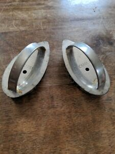 Lot of two B. Cukla cookie cutters biscuit very unique baking shapes